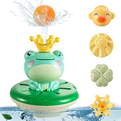 FORMIZON Badespielzeug, Baby Badespielzeug Wasserspielzeug Bade Spielsachen, Pool Wassersprühspielzeug Badewanne Spielzeug für Baby Kinder Party Geschenk ab 1 2 3 Jahr