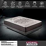 Komfortland Colchón 150x200 viscoelástico Memory Platinum de Altura 29cm, 9cm de ViscoProgression Grafeno de Alta Densidad (85kg/m3)