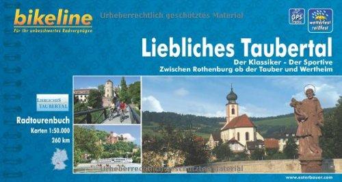 Bikeline Radtourenbuch Liebliches Taubertal. Der Klassiker – Der Sportive. Zwischen Rothenburg ob der Tauber und Wertheim, 1 : 50 000, wetterfest/reißfest, GPS-Tracks Download