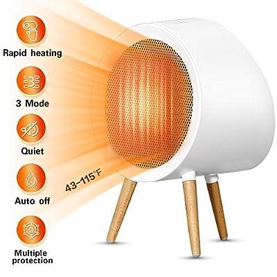 SMSJ 5CM9 Space Heater, M, White