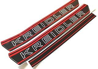 Kreidler Tank Aufkleber Sticker S/W Rot RMC RS RMCS Florett Mofa #14