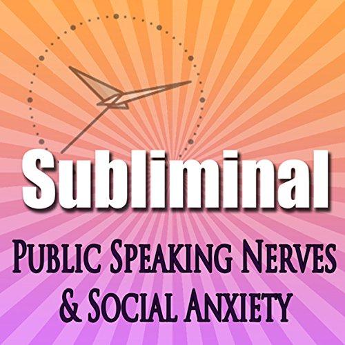 Overcome Public Speaking Nerves audiobook cover art