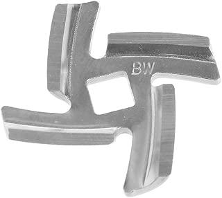 jackyee Stainless Steel Cross Blade for Household Meat Grinder - Inner Hole 8Mm 1Pc 50mm Diameter Stainless Steel Meat Grinder Blade Spare Part for Moulinex HV6