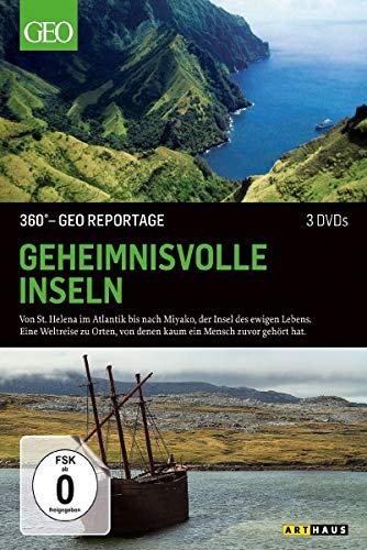 360 Grad - GEO Reportage: Geheimnisvolle Inseln [3 DVDs]