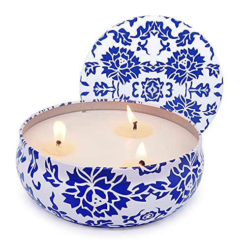 Citronella Candles Outdoors Indoor, 13.5oz Large Soy Wax Centranella Candles for Home Patio