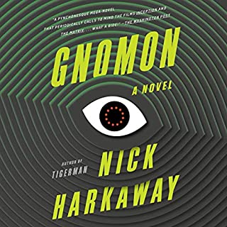Gnomon audiobook cover art