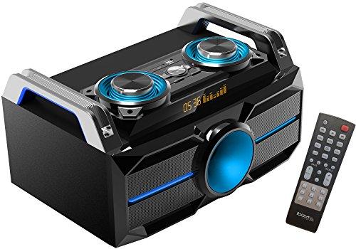 Ibiza SPLBOX100 Chaîne Hi-Fi à LED 100W