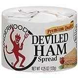 Underwood Deviled Ham Spread, 4.25 oz (Pack of 2)