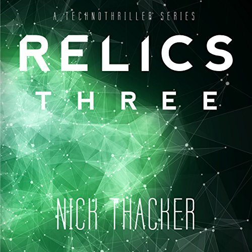 Relics: Three audiobook cover art