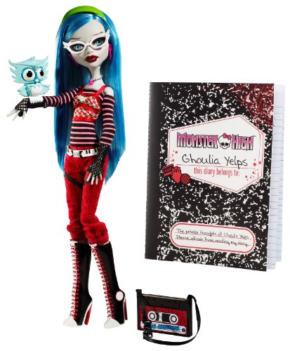 Mattel R3708 - Monster High Ghoulia Yelps - Tocher der Zombies
