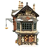 Department 56 Ebenezer Scrooge's House Lighted Building (56.58490)