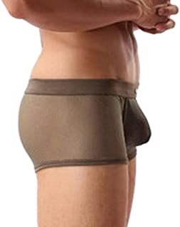 Jixin4you Men Transparent Underwear Boxer Briefs A05