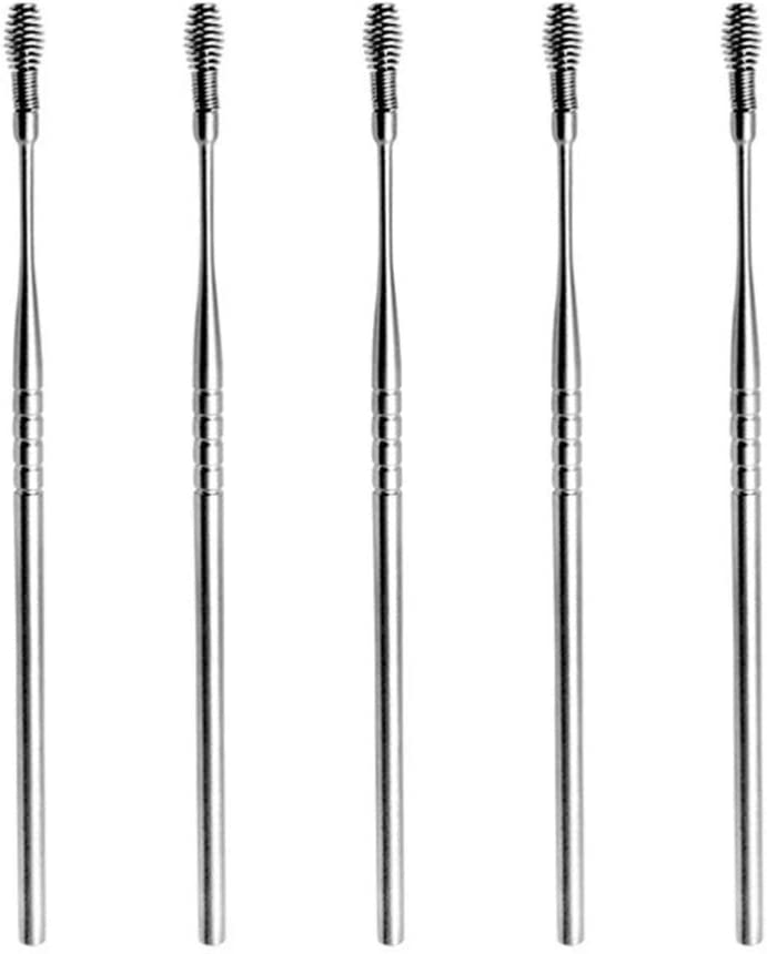 DOITOOL Earwax Removal Tool 5pcs Ear Pick Steel New product type Spring Stainless Spasm price