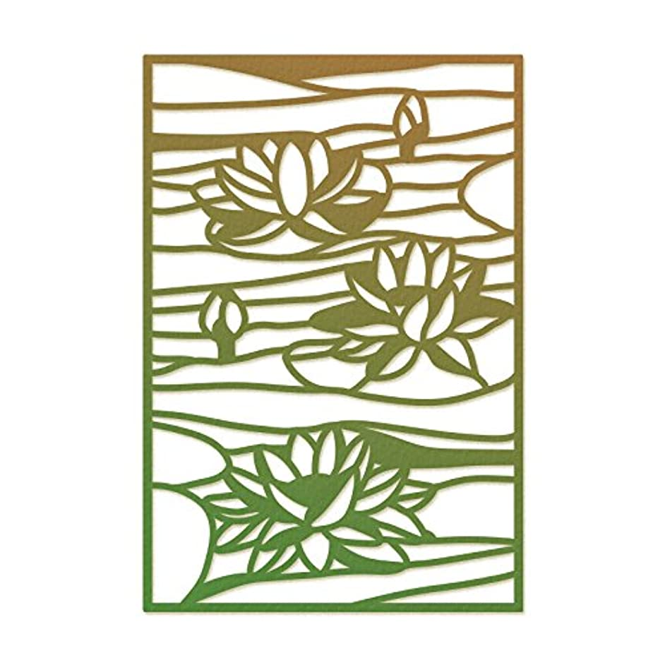 Ultimate Crafts Stained Glass Die-Lily Pond, 2.3