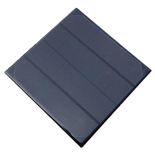 1X 6V 4.5W 165x165x3mm Micro Mini Power Small Monocrystalline Solar Cell Panel Module for DIY Solar Light Phone Battery Charger Toy Flashlight Power Bank (1)