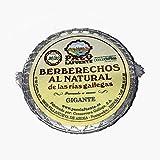 Berberechos al natural 30-35 piezas pesca de ría 30-35 piezas lata 65 g neto escurrido