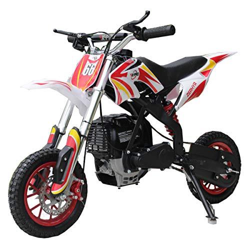 X-PRO Zephyr 40cc Kids Mini Dirt Bike Pit Bike Dirt Bikes Gas Power Bike Off Road Motorcycle (Red)