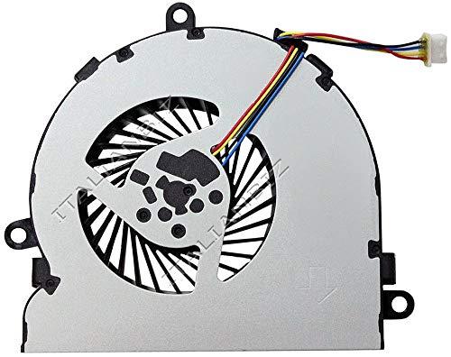ITALIANBIZ Ventola CPU Cooling Fan Compatibile con HP 15-ay050nl 15-ay051nl 15-ay054nl 15-ay055nl 15-ay056nl 15-ay058nl 15-ay061nl 15-ay062nl