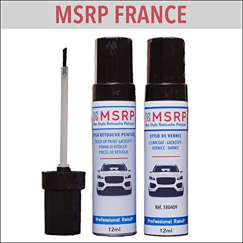 MSRP FRANCE - Kit Stylo Retouche Peinture Compatible Alfa-Roméo 130/F Rosso Alfa