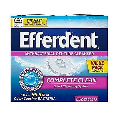Efferdent Denture Cleanser Tablets