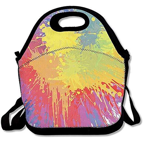 Bag Gourmet Uniek design, waterdicht, herbruikbaar, voor lunch, mannen, vrouwen, volwassenen, kinderen, verpleegsters, schouderriem, beste reistas
