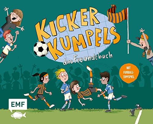 Kickerkumpels – Das Fußball-Freundebuch: Mit Fußball-Tippspiel, Geburtstagskalender und Lieblingsspielergalerie: Mit Fußball-Tippspiel, Geburtstagskalender und Spieleraufstellung zum Ausfüllen