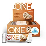 ONE 1 Protein Bars, Butter Pecan, Gluten Free Protein Bars with 20g Protein and only 1g Sugar, Guilt-Free Snacking for High Protein Diets, 2.12 Ounce (12 Count)