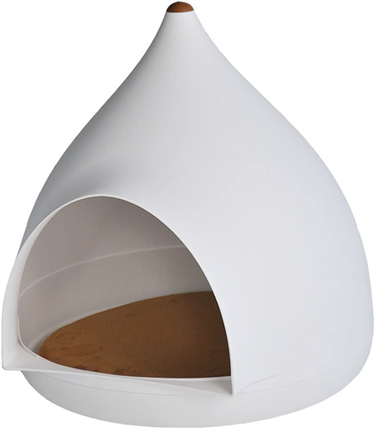 FH The New Water Droplets Cat Nest Net Red Cat Nest Summer Four Seasons General Purpose Cat House Cat House Kennel Small Dog Closed Dog Houses