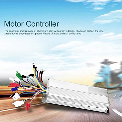 DAUERHAFT Regulador del Motor de la Vespa de Shell de la aleación de Aluminio, para Las Bicicletas eléctricas