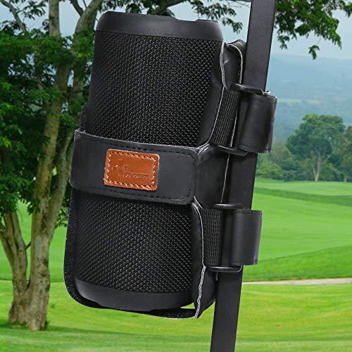FAGERS Portable Speaker Mount for Golf Cart Railing, Adjustable Speaker Mount Holder Strap Fits Most Bluetooth Wireless...