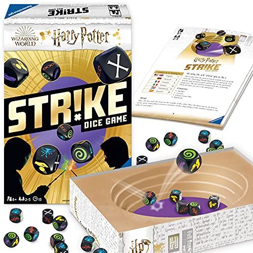Ravensburger Strike Harry Potter - Versión española, Family Game, 2-5 Jugadores, Edad recomendada 8+ (26839)