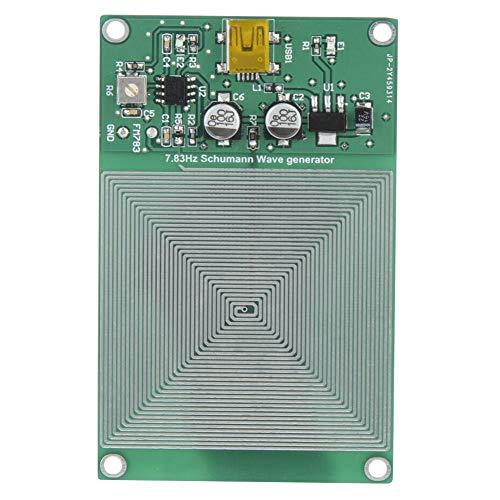 7.83HZ generador de pulsos de frecuencia ultrabaja de onda Schumann ajustable para relajarse en el dormitorio, oficina, ceremonia del té