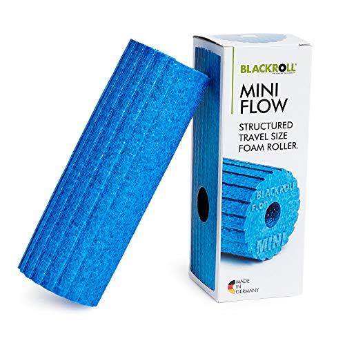 BLACKROLL® MINI FLOW Faszienrolle - das Original. Die kleine Selbstmassage-Rolle mit doppeltem Effekt für die Faszien in azur