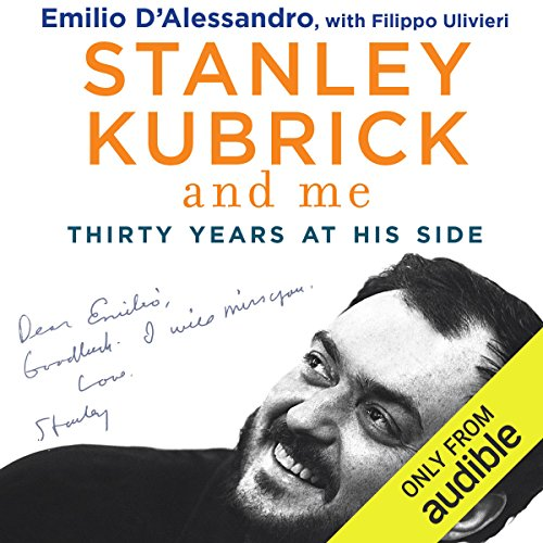 Stanley Kubrick and Me audiobook cover art