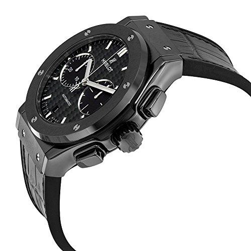 Hublot Classic Fusion Montre chronographe avec boîtier en céramique Noir 52 cm.1771.LR