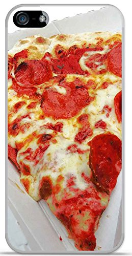 Onozo Carcasa TPU Gel Suave Apple iPhone 5/5S Design Pizza