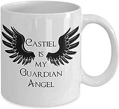 CASTIEL is My Guardian ANGEL Supernatural Inspired Mug TV Show Fan Gift Sam Dean