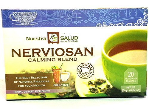 Nerviosan Tea Calming Blend Filter Tea (20 tea bags)