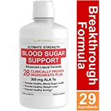 Best Blood Sugar Supports - Blood Sugar Liquid Support & Immune Booster Formula Review