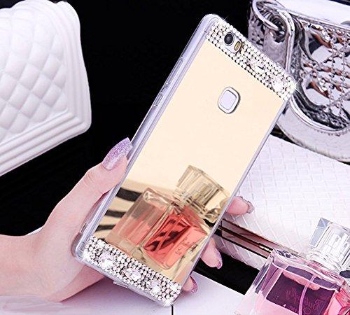 FESELE TPU Specchio Custodia per Huawei P8 Lite