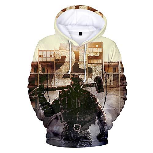 IDEALcos Spiel Rainbow Six Siege Tom Cosplay Hoodie Sweatshirt Kostüm Halloween Zipper/Pullover Jacke (L, Farbe 6)