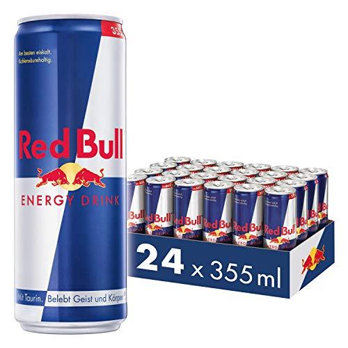 Red Bull Energy Drink 24 x 355 ml OHNE Pfand Dosen Getränke, 24er Palette