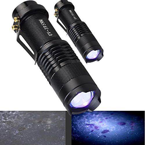 GameTracker (2 Pack) Professional Blood Trailing & Tracking Tactical Hunting Flashlight Illuminates Blood & Other Bodily Fluids. Makes Blood Trails Glow Find Your Game Fast Great For Broadheads