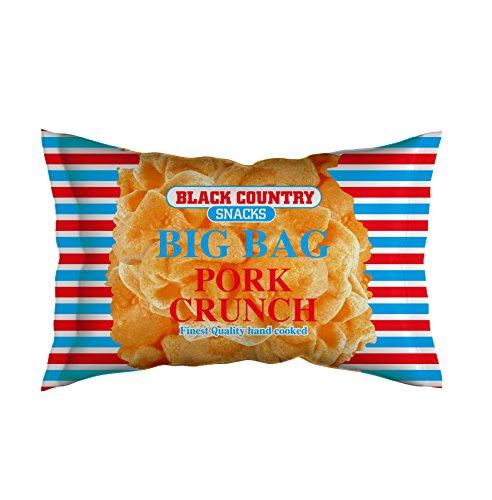 Big Bag Pork Scratchings (Pork Crunch) 15 x 80g Hanging Bag