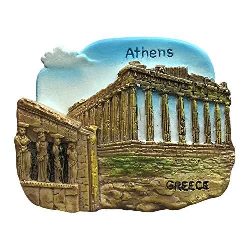 3D Atene Grecia Frigorifero Magnete Patti Tempio Turistico Souvenirs Adesivi,Casa & Cucina Decorazione Grecia Frigo Magnete Dalla Cina