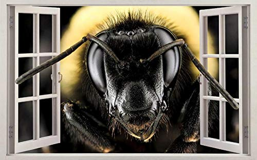 Wandtattoo Bee 3d window decal wall sticker home decoration art mural animal