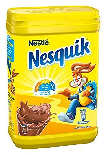 Nestlé Nesquik Kakaohaltiges Getränkepulver, 1er Pack (1 x 900 g)