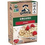 Quaker Instant Oatmeal, USDA Organic, Non-GMO Project Verified, Original, Individual Packets, 48...