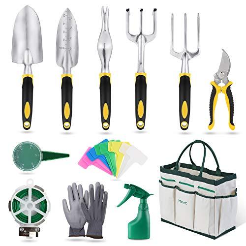 YISSVIC Outils de Jardinage 12 P...