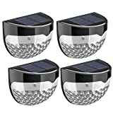 Litom Solar Fence Lights, Decorative Lights LED Garden Lights, Waterproof Solar Lights Wireless...